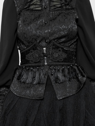 Gothic Palaces Pattern Girdle for Women