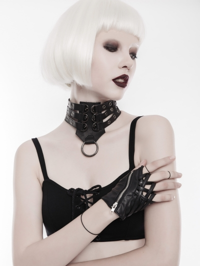 Gothic Punk Collar for Women