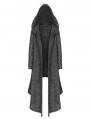 Gothic Weird Long Cardigan Sweater for Women
