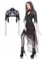 Black Gothic Lolita Gorgeous Lace Cape