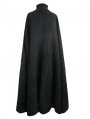 Black Gothic Long Cape Cloak for Women