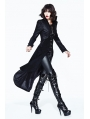 Black Gothic Dark Queen Jacket for Women
