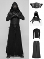 Black Gothic Punk Suit for Men