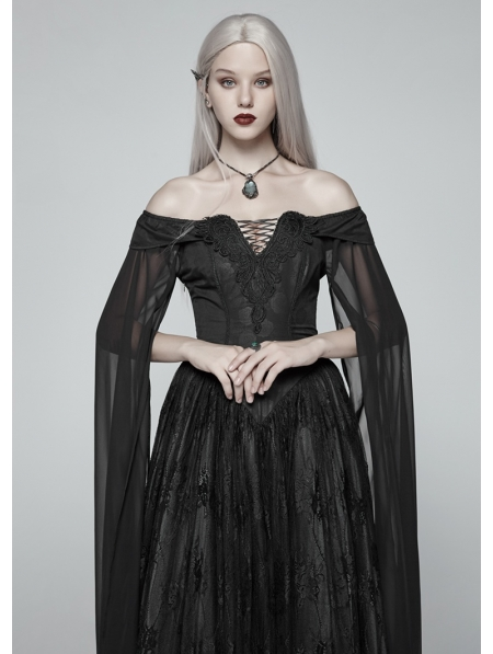 72f13f198713 Black Gothic Medieval Renaissance Fancy Dress - Devilnight.co.uk
