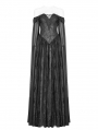 Black Gothic Mediveal Renaissance Fancy Dress