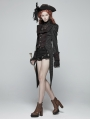 Gothic Vintage Swallow Tail Pirate Jacket for Women