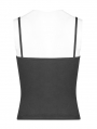 Black Gothic Daily Punk Camisole for Women