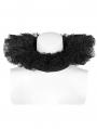 Black Gothic Victoria Lace collar