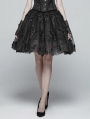 Black Gorgeous Gothic Lolita Half Skirt for Women