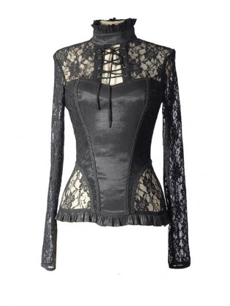 Women's Gothic Shirts, Gothic T-Shirts, and Short Sleeve Blouses