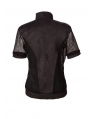 Black Net Short Sleeves Gothic Outfit for Men