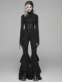 Black Gothic Punk PU Harness for Women