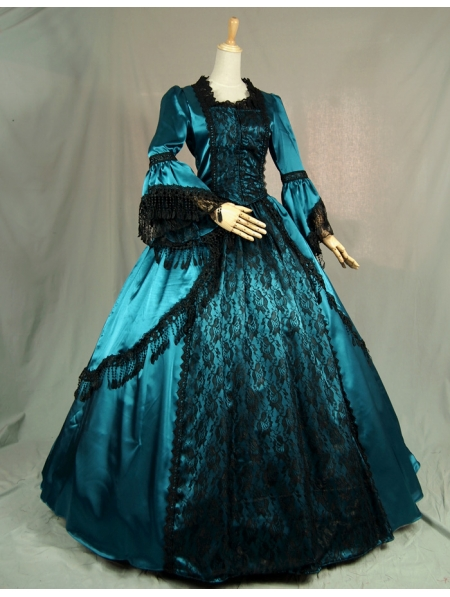 black victorian ball gown - photo #27