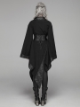 Dark Gothic Punk Asymmetric Kimono for Women