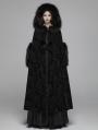 Black Gothic Gorgeous Winter Warm Cloak for Women