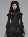 Black Gothic Lolita Lace Long Sleeve Blouse for Women