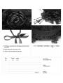 Black Gothic Lolita Headband Accessory