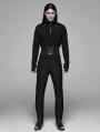 Black Gothic Punk Handsome Waistband for Men