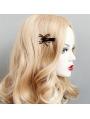 Black Gothic Spider Hairpin