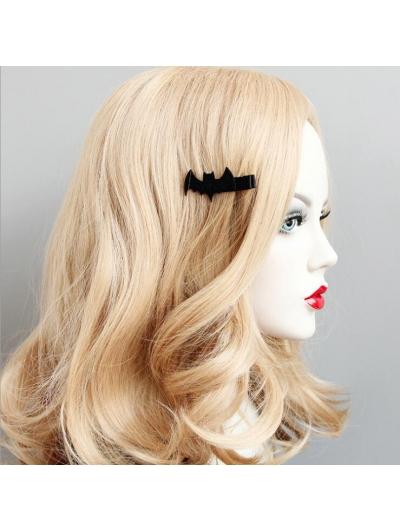 Black Gothic Bat Hairpin