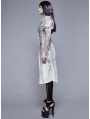 Vintage Gothic Long Sleeve Blouse for Women