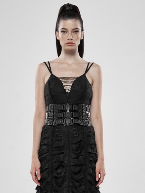 Love and Imprisonment Black Gothic Heavy Metal Waist Girdle