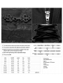 Black Vinatge Gothic Embroidered Simple Trousers for Men