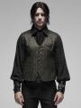 Gothic Retro jacquard Vest for Men