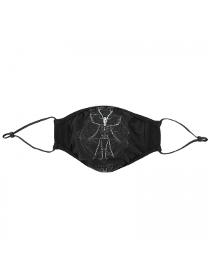 Black Alternative Gothic Unisex Mask 0011