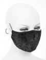 Black Vintage Gothic Unisex Mask