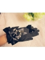 Black Bow Gothic Lolita Gloves