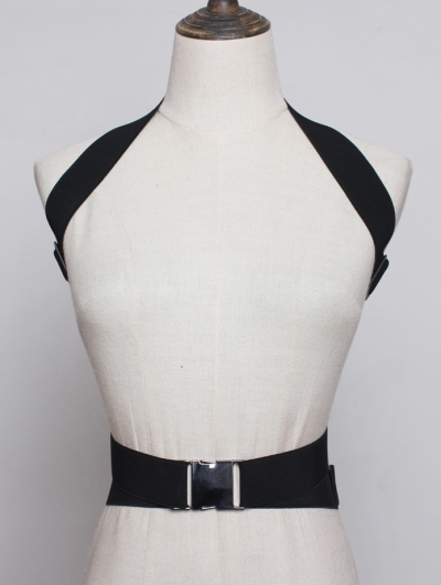 Black Fashion Gothic Punk Belt Harness