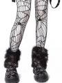 Black Gothic Punk Fishnet Tights