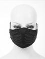 Black Gothic Punk Skull Unisex Mask