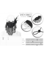 Black Gothic Lace Flower Feather Mask for Women