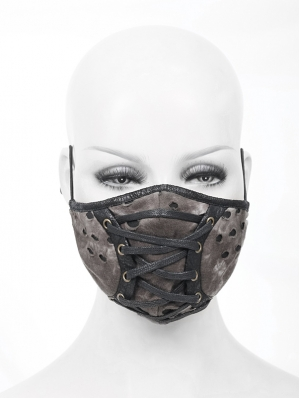 Brown Gothic Steampunk Unisex Mask
