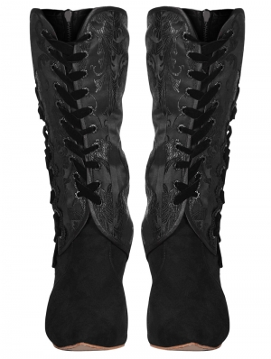 Vintage Gothic Shoes Cover
