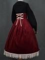 Mrs.Jennifer Black Elegant Classic Long Sleeve Lolita Blouse