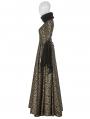 Gold Gogerous Court Gothic Victorian dress