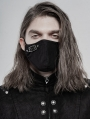 Black Gothic Daily Punk Mask for Men