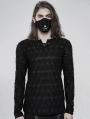 Black Gothic Daily Punk Ghost Mask for Men
