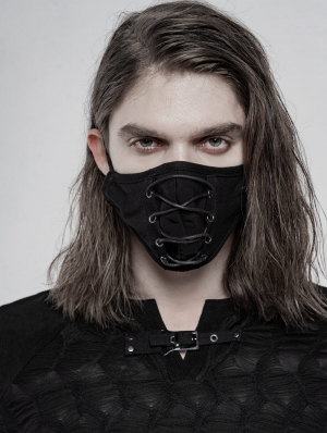 Black Gothic Daily Mask for Men