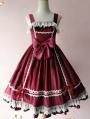 Infanta The Honey Candy Velvet Classic Lolita JSK Dress