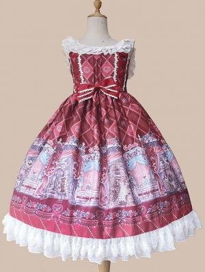 Infanta The Secret Garden Pattern Sweet Lolita JSK Dress