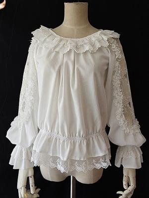 Infanta Jenny Bakery Long Sleeve Classic Lolita Blouse