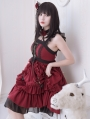 Neverland The Memories Of Samuel Red Gothic Lolita JSK Dress