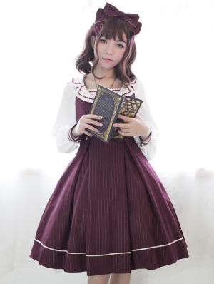 Neverland The Idol School Preppy style Classic Lolita JSK Dress