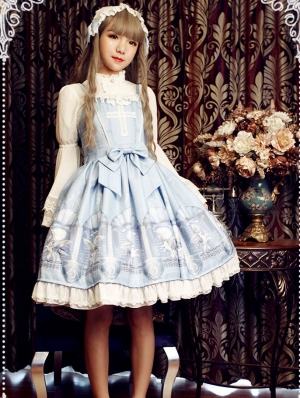 Neverland The Guardian Of Space Time Pattern Lolita JSK Dress