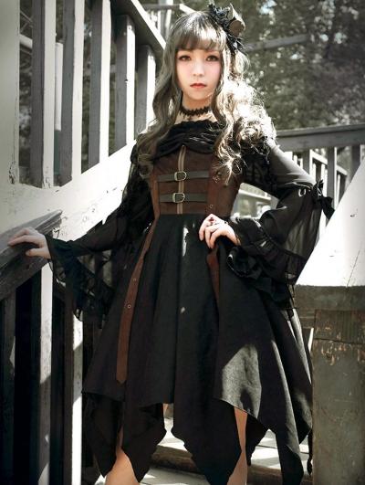Neverland The Pirate Ship Steampunk Lolita JSK Dress