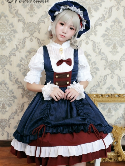 Neverland Snow White In Summer Sweet Lolita JSK Dress